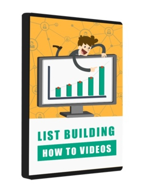 Product picture List Building How To Videos (MRR)