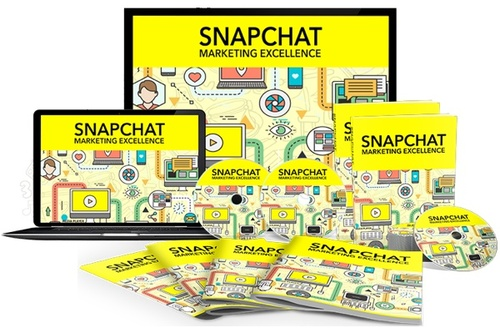 Product picture Snapchat Mktg. Excellence Video and eBook Bundle (MRR)
